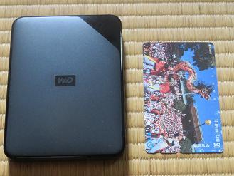 WD Elements SEのポータブルハードディスクの本体